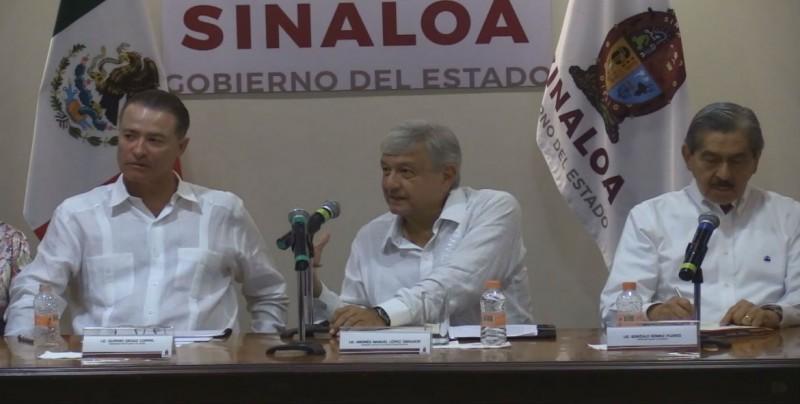 Pide la FECANACO transparentar aplicación de recursos anunciados por AMLO para Sinaloa