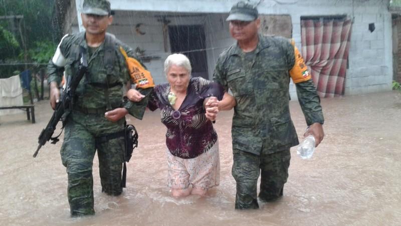 Ejército Mexicano aplica PLAN DN-III-E