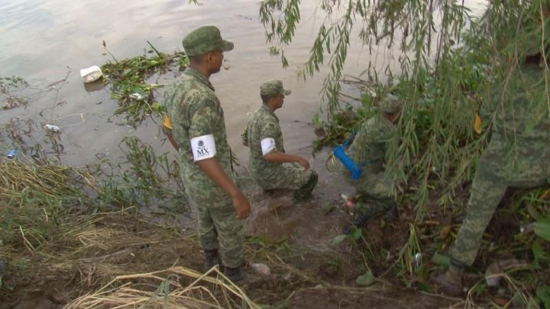 Encuentran el cuerpo de Andrea en el río Culiacán