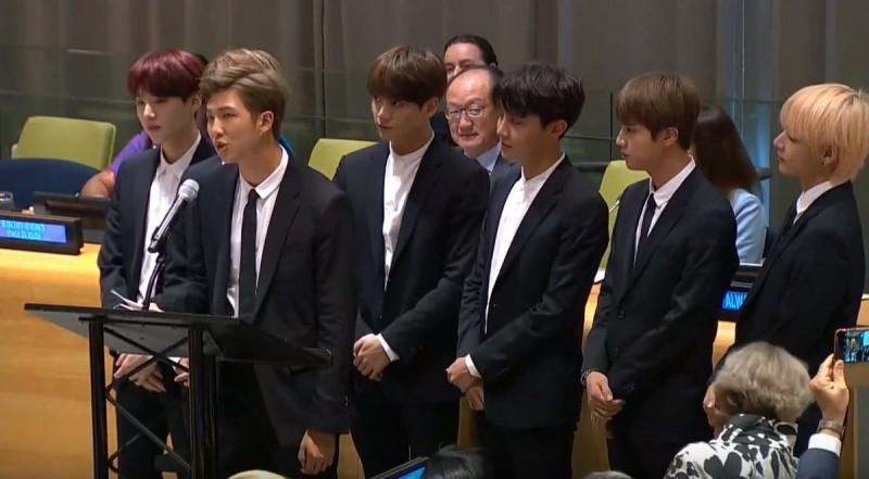 Banda de K-pop da un gran mensaje en la ONU