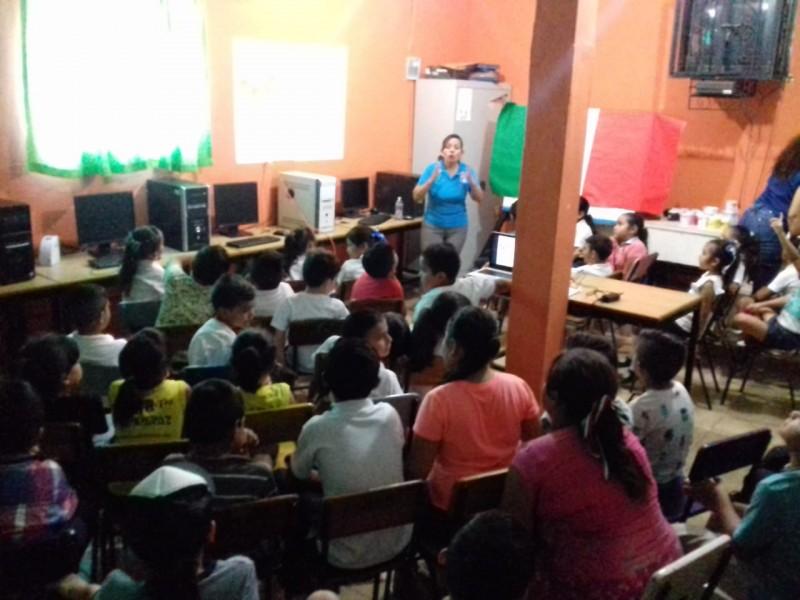 Realiza JUMAPAM trabajo de concientización permanente en escuelas de la ciudad