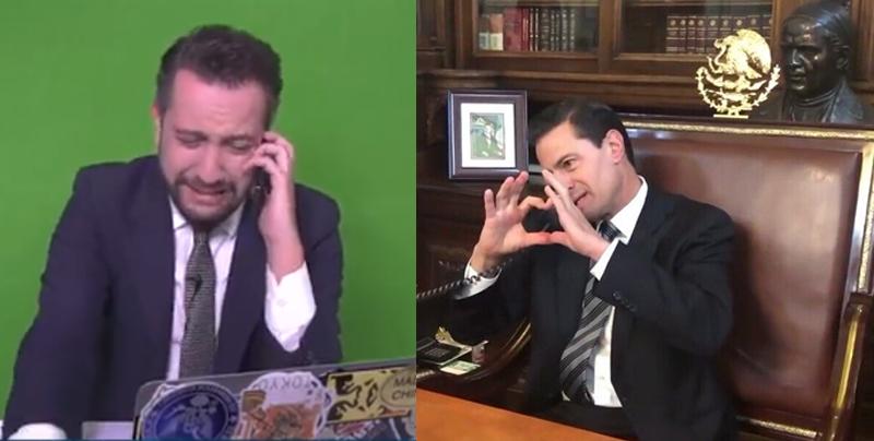 Peña Nieto se despide de Chumel Torres por teléfono