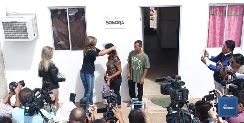 Entrega Gobierno de Sonora acciones de vivienda a familias