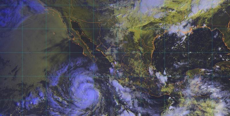 Tormenta tropical Rosa se forma frente a costas de Pacífico