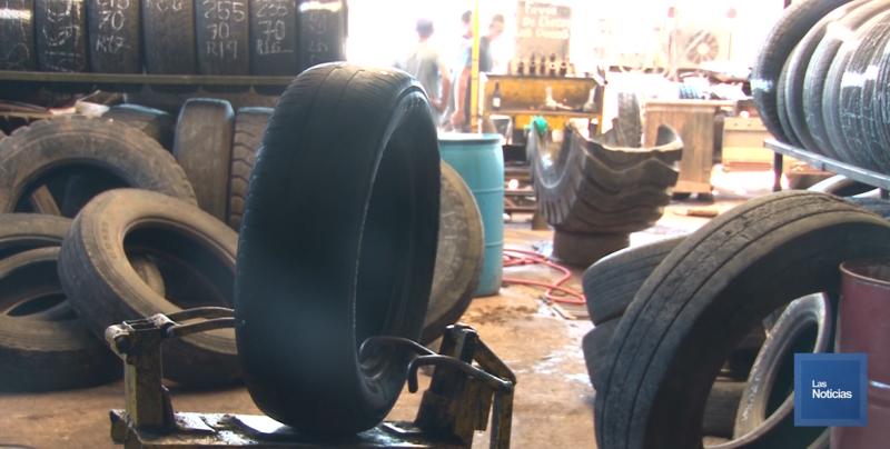 Aumenta trabajo en vulcanizadoras de Ciudad Obregón