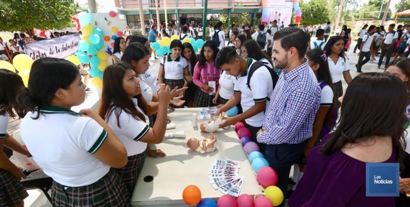 Proyectos de vida saludable para estudiantes promueve la SEC en Sonora