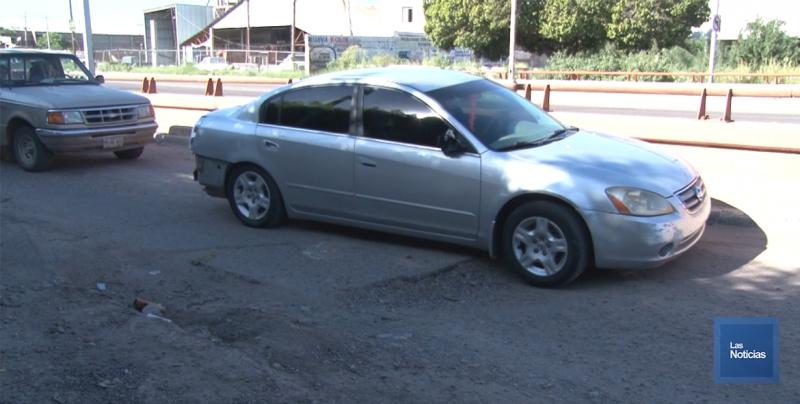 En Cajeme, automovilistas piden trabajos en vialidades