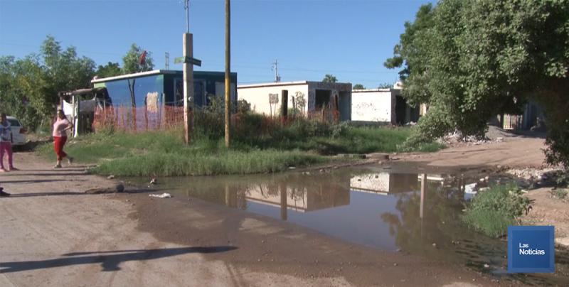 En Cajeme, vecinos de la Esperanza Tiznado piden apoyo al Oomapas