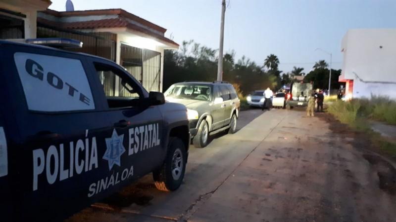 Se registra balacera en el sector Centro plaza Los Mochis