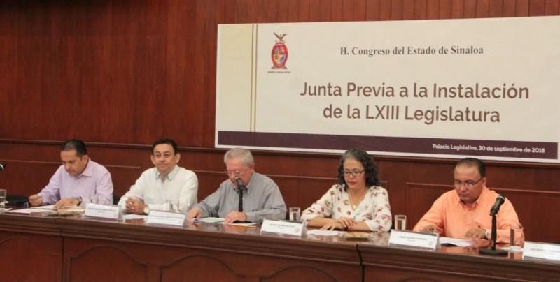 Diputados entrantes ajustan detalles para la instalación de la LXIII Legislatura este lunes