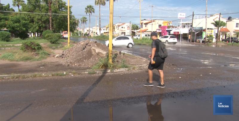 En Cajeme, vecinos piden limpieza en calles de Casa Blanca