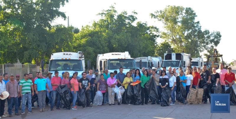 En Navojoa, el Ayuntamiento inicia limpieza en colonias
