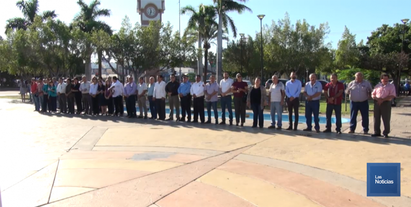 Recordaron en Cajeme a estudiantes caídos
