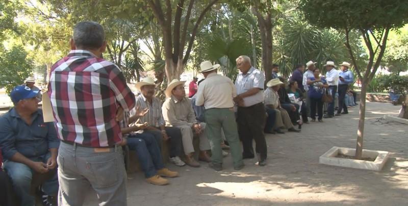 Reclaman organizaciones agrícolas falta de apoyo de los Diputados Federales de Morena