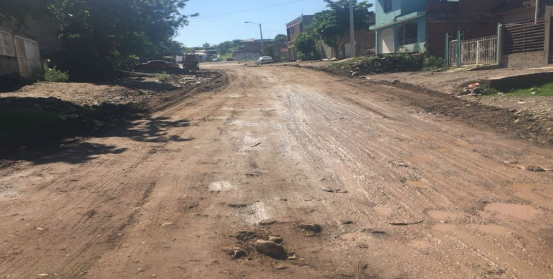 Mejoran condiciones de la avenida Bella Vista en la Progreso