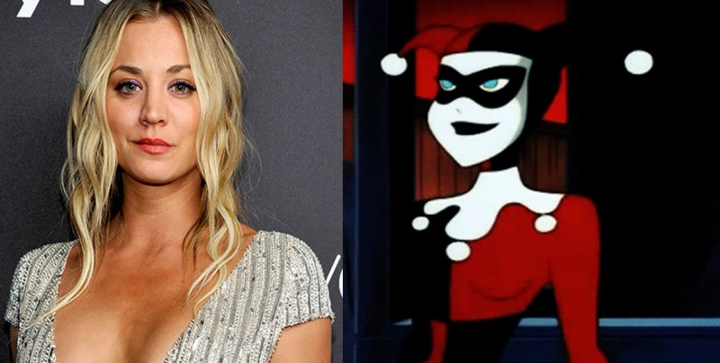 Kaley Cuoco será Harley Quinn