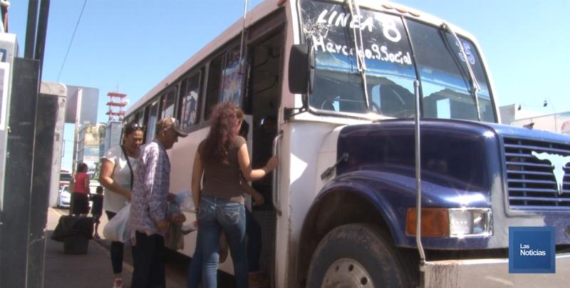 Autoridades del transporte en Sonora, vigilan que se cumpla la tarifa en urbanos