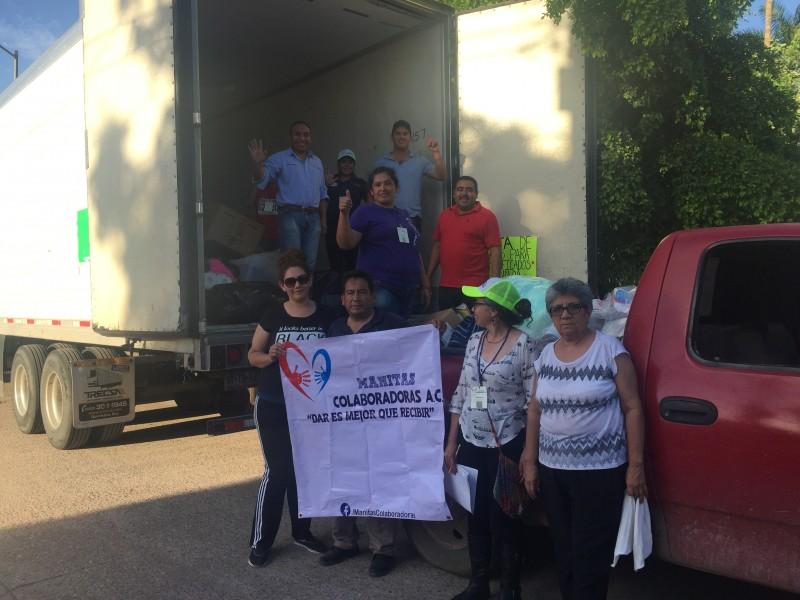 Llega apoyo de Villagrán Guanajuato a Sinaloa