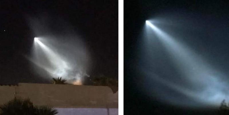 Una extraña luz se observa en todo el noroeste de México