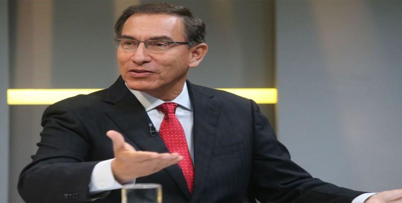 Martín Vizcarra convoca referéndum pero rechaza la bicameralidad del Congreso
