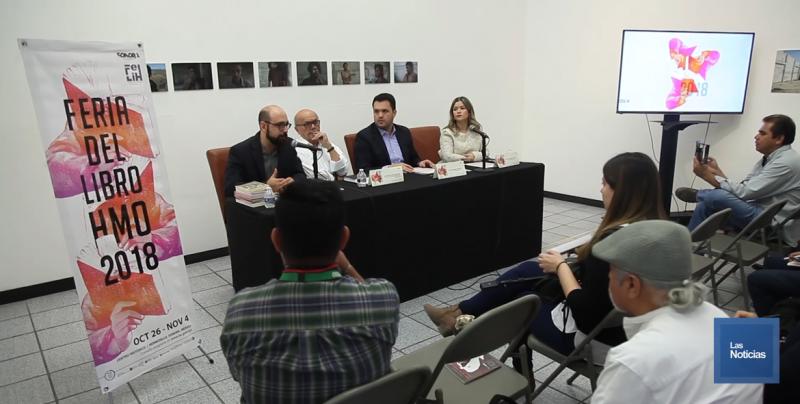 Anuncian la Feria del Libro de Hermosillo 2018