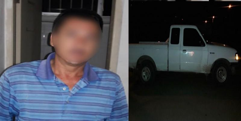 Recuperan vehículo con reporte de robo, hay un detenido