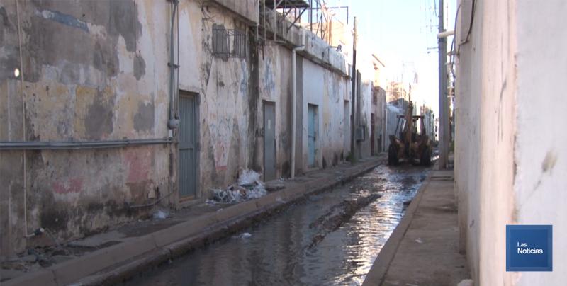 En Cajeme, urgen trabajos en callejones de la ciudad