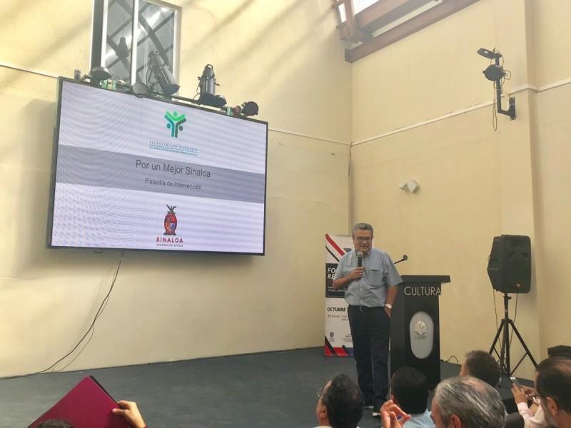 """Muestra Renato Ocampo Programa """"Por Un Mejor Sinaloa"""" en la Asamblea Regional de la AMIMP"""