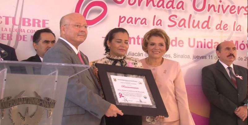 Inicia la UAS jornada de salud para la mujer a fin de detectar cáncer de mama