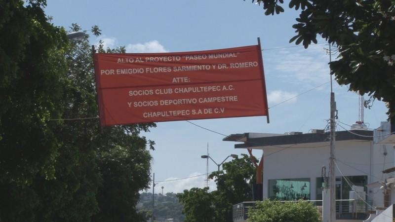 Faltó socializar obra del Distrito Paseo Mundial aseguran vecinos del sector Chapultepec