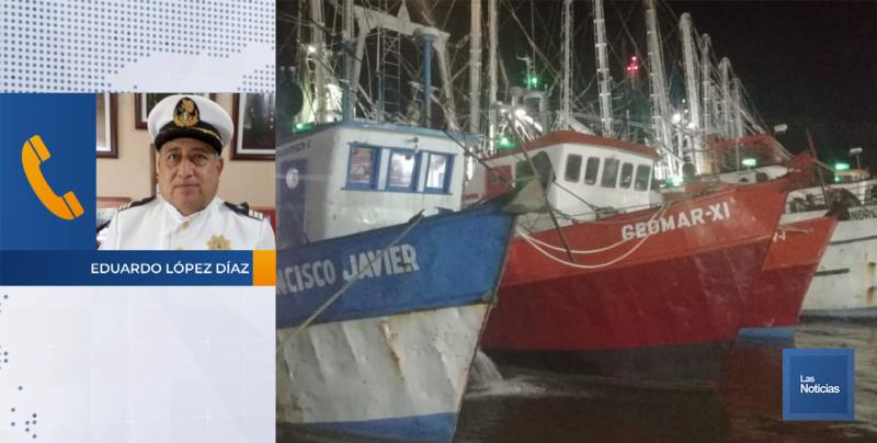 En Yavaros, más de 60 embarcaciones se atracan en el campo pesquero
