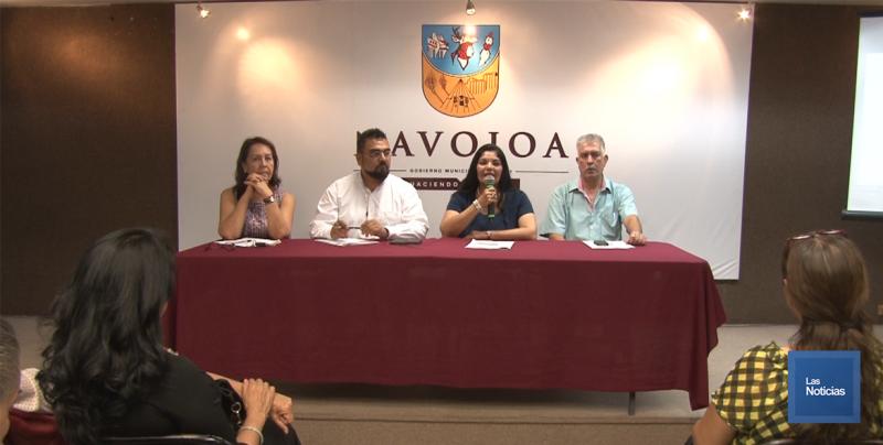 En Navojoa, Alcaldesa presenta programa de 100 días de Gobierno
