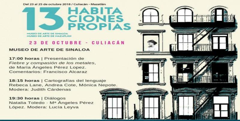 Se presentan cuatro libros, en el Encuentro 13 Habitaciones Propias