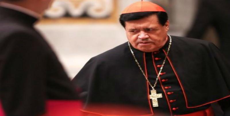 Cardenal Rivera no ha presentado denuncia, tras balacera en su casa