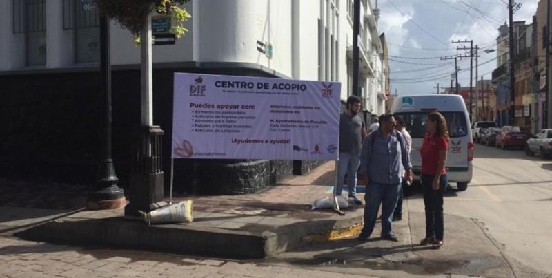 Abre DIF Mazatlán centro de acopio