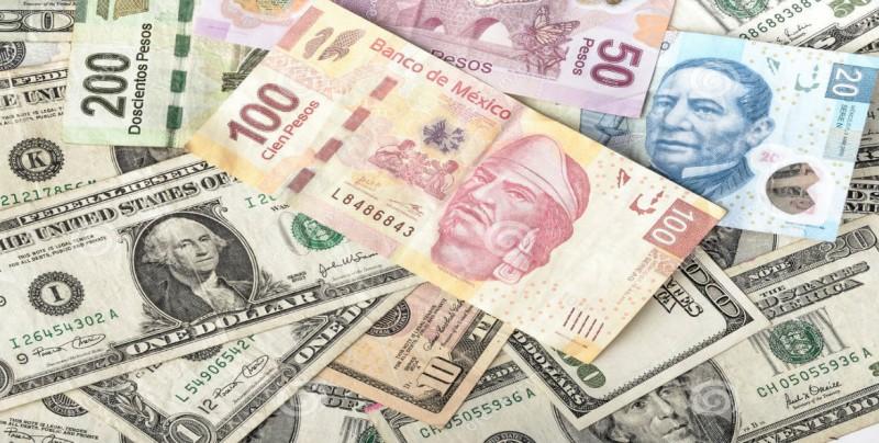Peso mexicano pierde por aversión al riesgo, dólar cotiza a 19.39