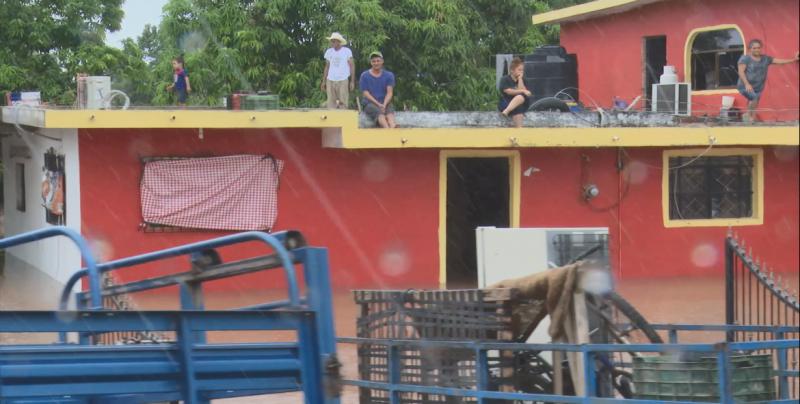 Quedaron incomunicadas varias comunidades que se encuentran al margen del Río Baluarte