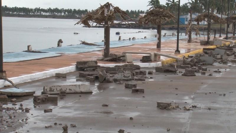 """Severos daños en Escuinapa por """"Willa"""""""