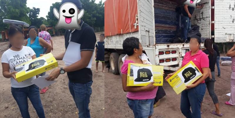 Llega apoyo a afectados en Culiacán con iniciales 'JGL'
