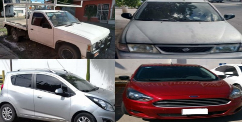 Recuperan 74 vehículos con reporte de robo