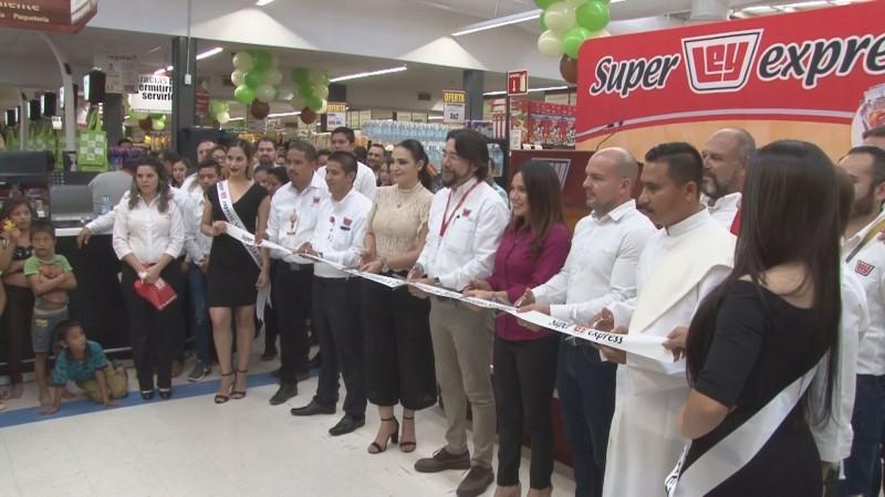 Casa Ley inaugura nueva tienda en Villa Juárez