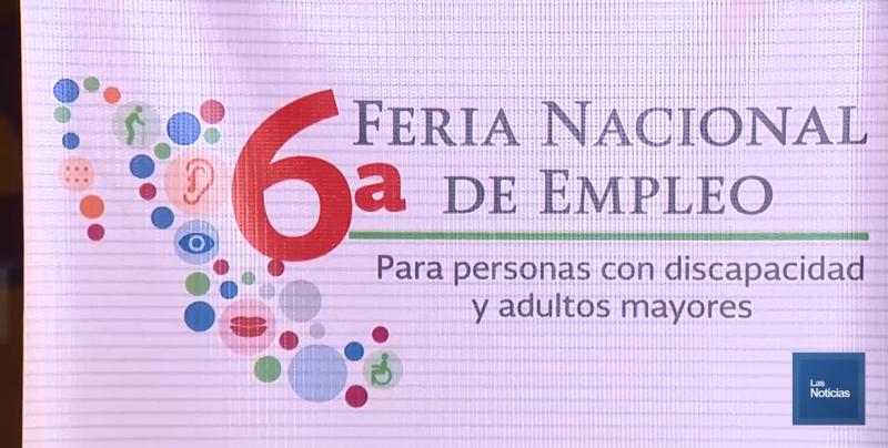 Realizaron Feria Nacional de Empleo para Discapacitados y Adultos Mayores
