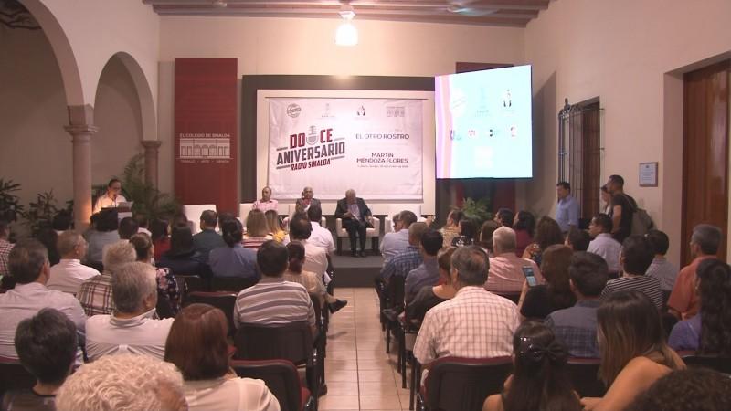 """Presentan el libro """"El otro Rostro"""" del periodista Martín Mendoza"""