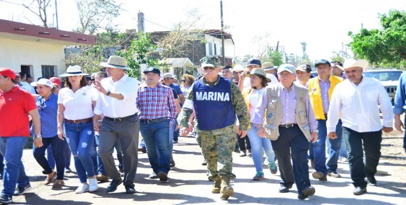 SSA atiende a damnificados de Escuinapa y Rosario
