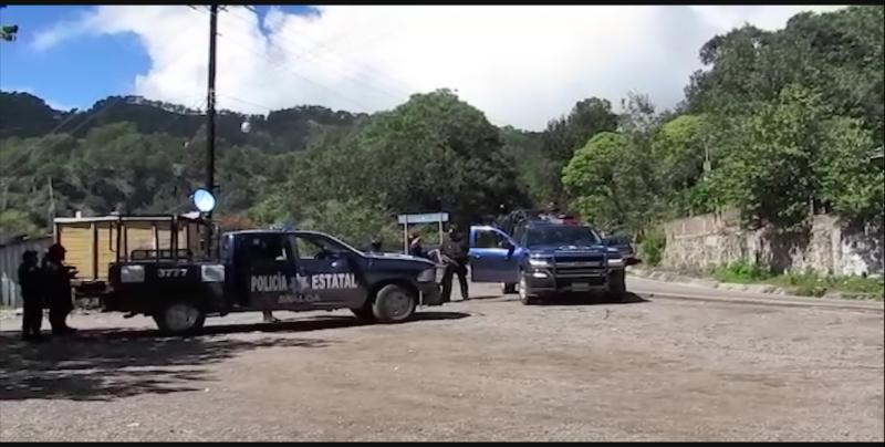 Asesinan a balazos a tres personas en El Palmito, Concordia