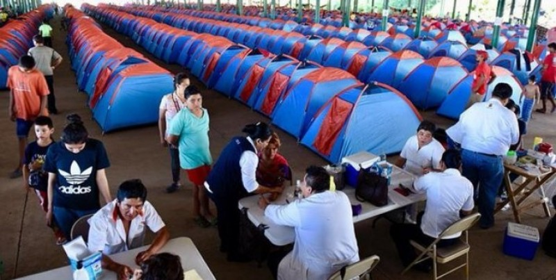 Segob entrega CURP de manera temporal a 111 migrantes