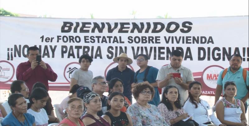 """Llevan a cabo Foro Estatal """"No hay patria sin vivienda digna"""""""