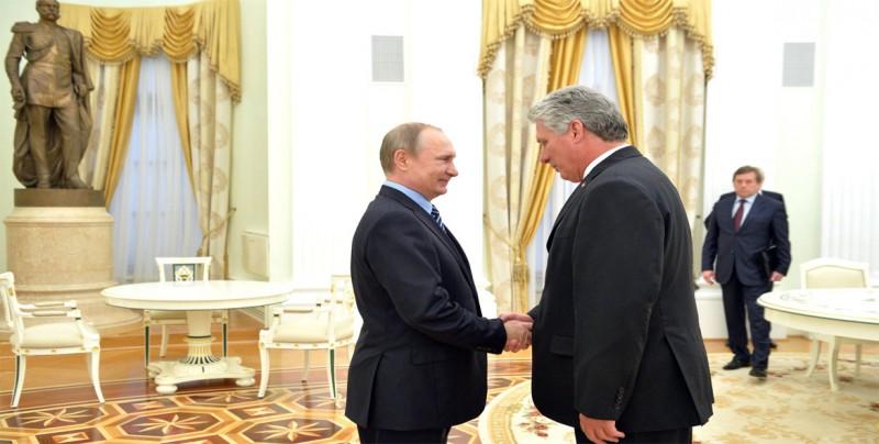 Putin recibirá a Díaz-Canel el 2 de noviembre en el Kremlin