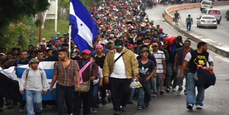 Caravana migrante rechaza propuesta de Peña