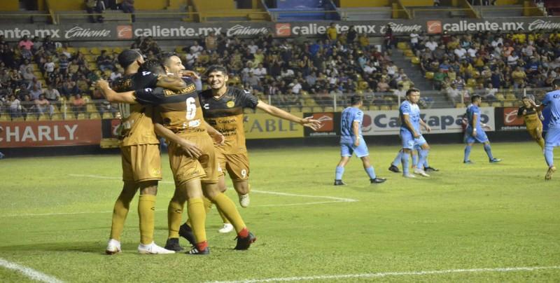 Dorados prácticamente está en liguila al vencer a Tampico Madero